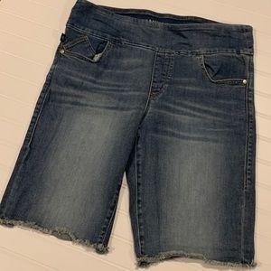Rock & Republic Slip On Denim Shorts